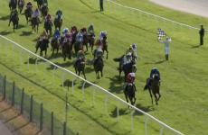 Some quick thinking from Ruby Walsh helped avoid disaster at the Grand National