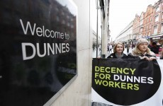 "Mandate compiling dossier of ""incidents of victimisation and intimidation"" at Dunnes Stores"