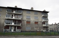 A €4.7 million plan to turn these flats into accommodation for homeless people will not go ahead