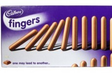 There are now TWO fewer Cadbury Fingers in every pack