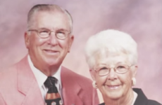 Prepare to sniffle: Couple of 73 years die just five minutes apart