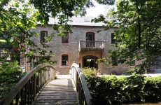 This mill house has a great history - and a pretty amazing interior