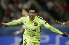 Nutmeg king Suarez makes a show of Luiz and hands Barca commanding first leg lead