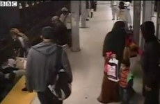VIDEO: Man jumps to rescue passenger from subway tracks