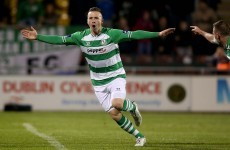 A former Aston Villa striker leads our SSE Airtricity League team of the week