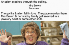 A comedian has written a ludicrous yet believable script for Mrs Brown's Boys 2