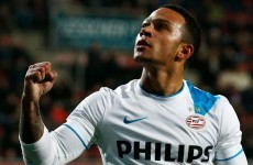 Manchester United have stepped up their pursuit of Memphis Depay... but so have PSG