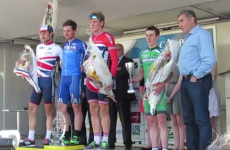 The 18 year-old Irish cyclist who met Eddy Merckx after a heroic race ... and what he said