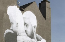 Warning letter sent calling for removal of giant same-sex marriage mural