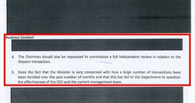 More than one whistleblower came forward with Siteserv information