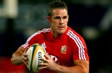 An injury has forced a former British & Irish Lion to hang up his boots