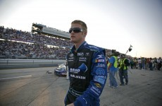 NASCAR driver gets hair pulled amid angry post-race confrontation