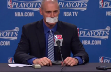How long before more managers follow Rick Carlisle's example and tape their mouth shut?