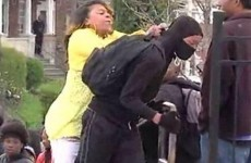 Woman who hit her son during the Baltimore riot explains why she did it