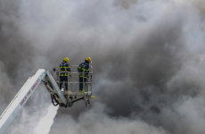 The Ballymount blaze yesterday destroyed charity's materials