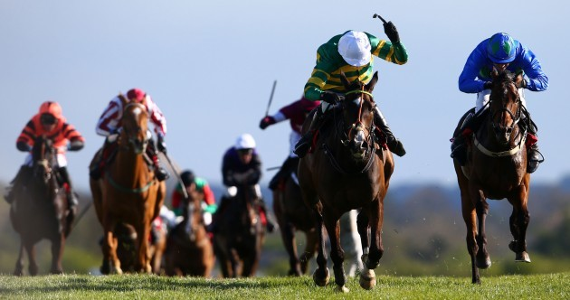 Jezki's day again at Punchestown as Hurricane Fly has to settle for World Hurdle second