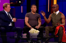 Clare Balding immediately regrets asking Chris Eubank about his philosophy on life