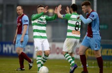Drennan the difference again as Shamrock Rovers go second with narrow win