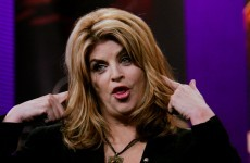 Kirstie Alley was linked to a political scandal because of this confusing headline
