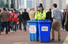 Could football fans be breathalysed before entering grounds? A new initiative starts today