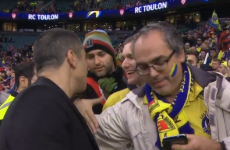 Toulon's owner paid a very classy gesture to Clermont fans after the Champions Cup final