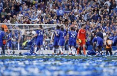 Party time at Stamford Bridge as Chelsea seal fourth Premier League title
