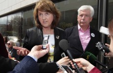 Joan Burton says the No posters about surrogacy are 'sad and demeaning'