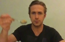 The creator of the Ryan Gosling cereal meme died, so Ryan Gosling finally ate his cereal