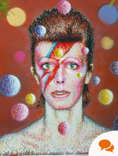 What is the enduring appeal of an artist like Bowie?