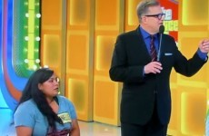 A woman with no legs won a treadmill on a US game show and it was very awkward
