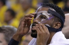 Steph Curry and Golden State couldn't handle The Masked Man last night