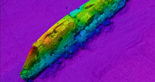 New images show the Lusitania lying on the seabed off the coast of Cork
