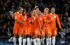 Holland go top of Fifa rankings