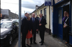 Protester arrested during Taoiseach's canvas in Carlow