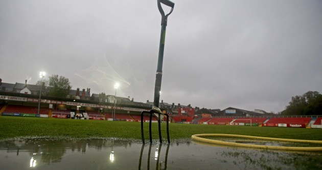 Rain, rain, go away! It's a (pretty soggy) Sports Pictures of the Week