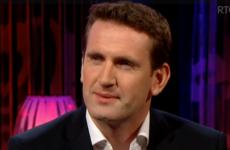 RTÉ did not know Aodhan Ó Ríordáin was wearing an equality pin