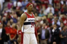 Two days on from his heroic 'I Called Game' buzzer-beater, Paul Pierce tried to do it again!