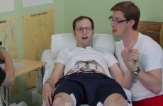 Here's what happens when lads have to go through labour pains