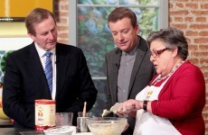 9 absurd moments from when Enda Kenny baked scones on Ireland AM
