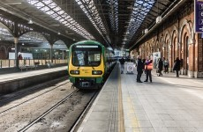 A wheelchair passenger has lodged a complaint with Irish Rail after being locked on a train for 35 minutes