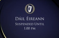 Dáil suspended TWICE after Enda Kenny tells Socialist TDs 'where to go'
