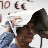 Greece just slid back into recession