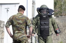 Bomb disposal team deal with four devices just days before Prince Charles visit