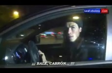 Video: Gareth Bale abused by fans as he leaves Real Madrid stadium