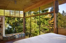 Check out this woodland getaway – on stilts