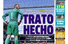 'Done Deal' – Spain's biggest newspaper says De Gea is off to Real Madrid