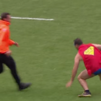 2/1 odds that this Top 14 steward is actually Batista working his day job