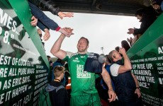 There were emotional scenes as some Connacht legends said goodbye