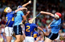 45 scores as Dublin's hurlers claimed a narrow win over Tipperary tonight