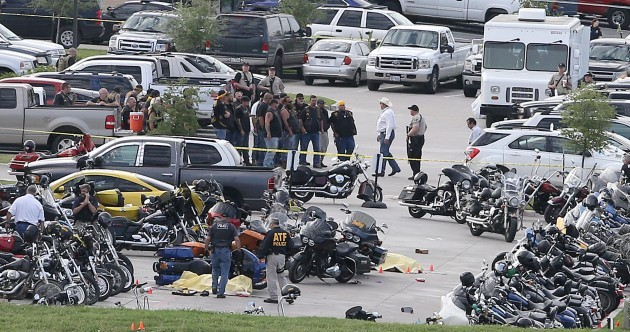 Police charge 170 after 'gruesome' shootout between biker gangs